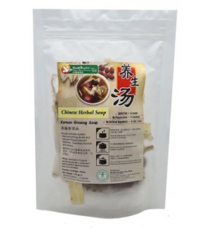 Health Paradise Herbal Soup - Korean Ginseng Soup 110gm Vegan, 高丽参须汤.