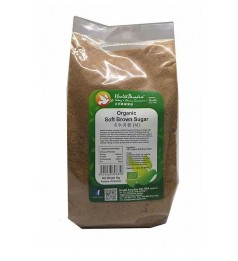 Health Paradise Organic Soft Brown Sugar 1kg 有机黄糖 (幼) baking, drinks, gluten free GF