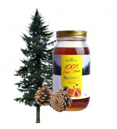 Etblisse 100% Pure Pine Honey  (900g OR 220g) 5x Greater Antioxidant Power Than Floral Honeys /Biogreen